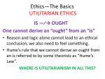 ethics the basics utilitarian ethics6