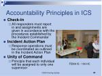 accountability principles in ics