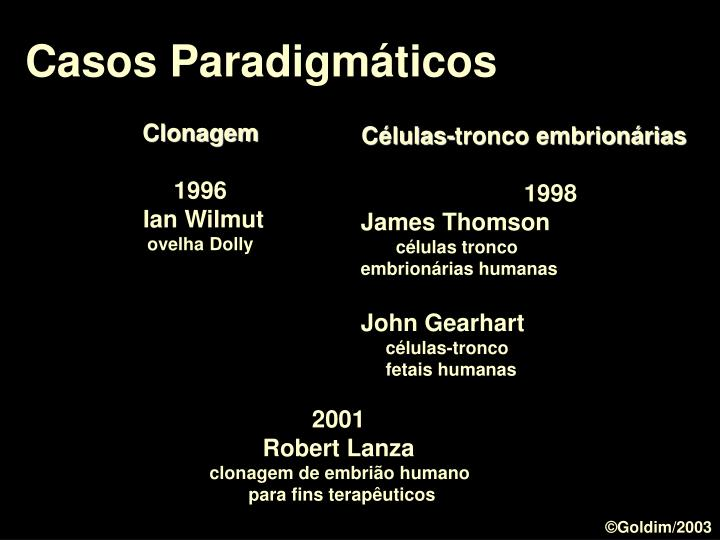 Casos Paradigmáticos
