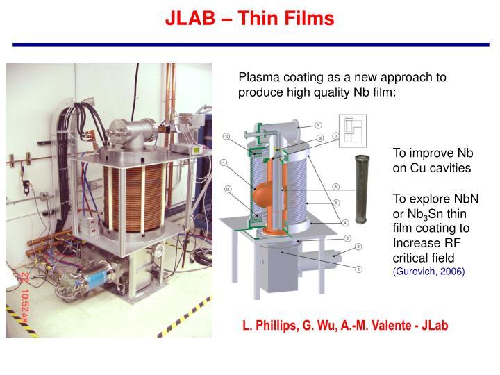 JLAB – Thin Films