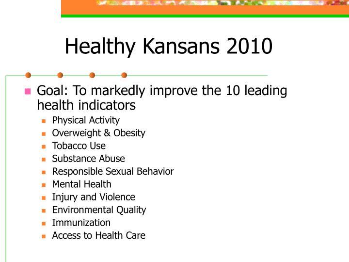 Healthy Kansans 2010