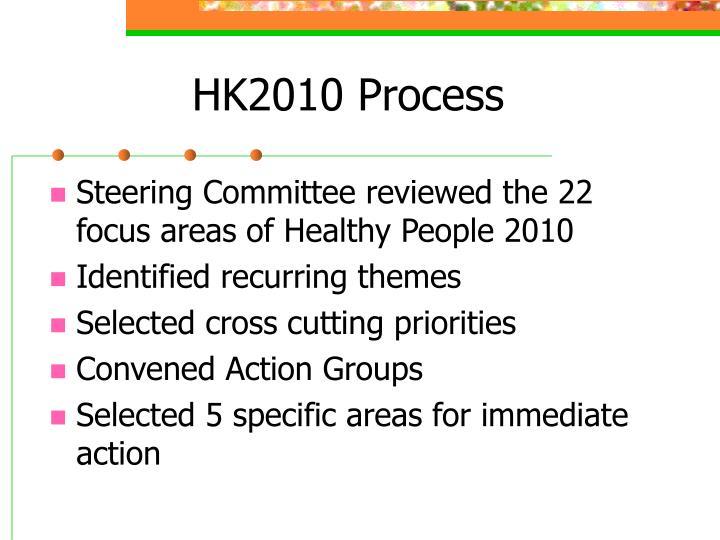 HK2010 Process