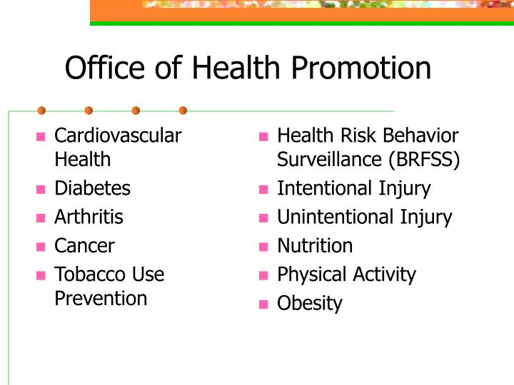 Office of health promotion
