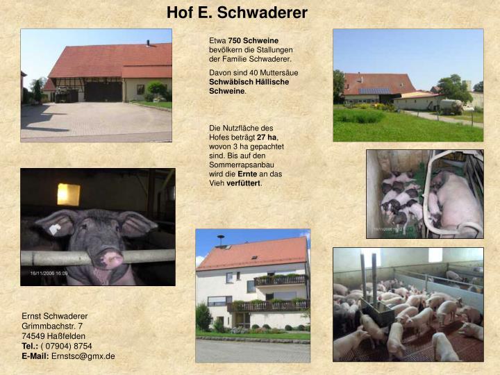 Hof E. Schwaderer