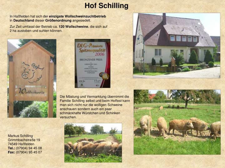 Hof Schilling