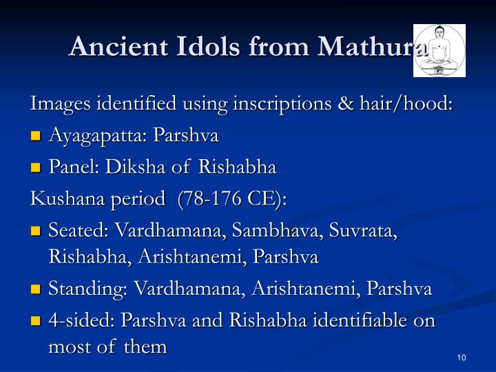Ancient Idols from Mathura