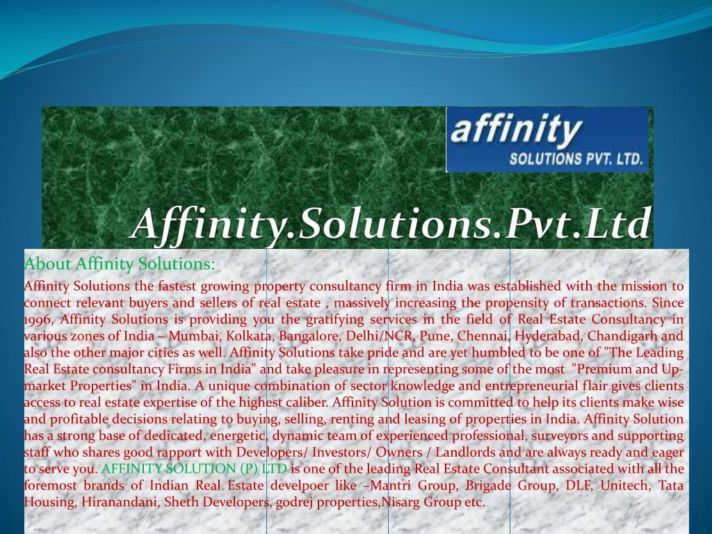 Affinity.Solutions.Pvt.Ltd