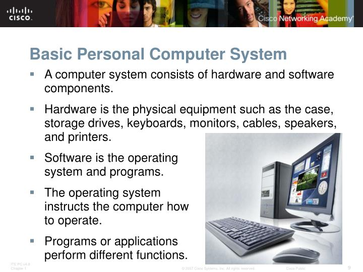 Basic Personal Computer System