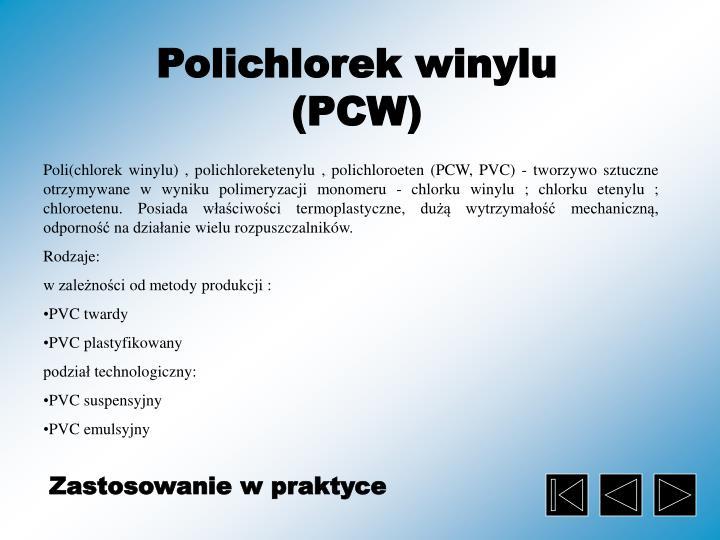 Polichlorek winylu (PCW)