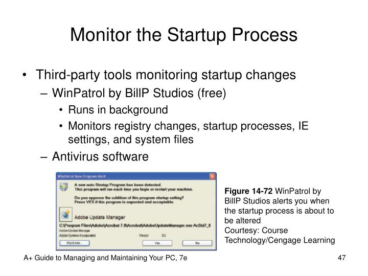 Monitor the Startup Process