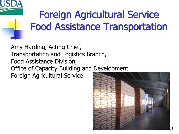 Foreign Agricultural Service