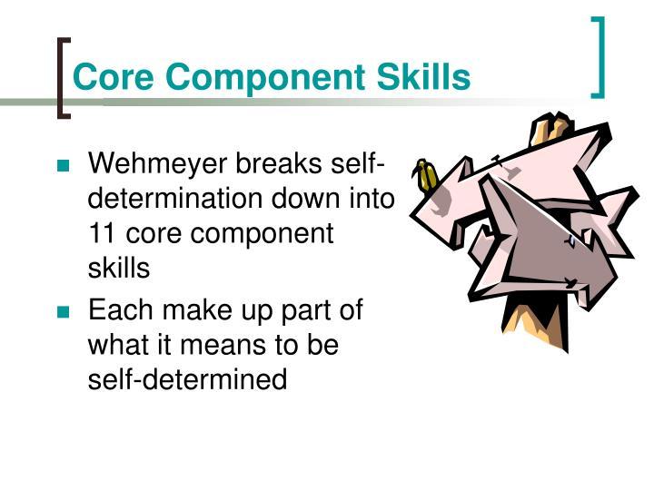 Core Component Skills
