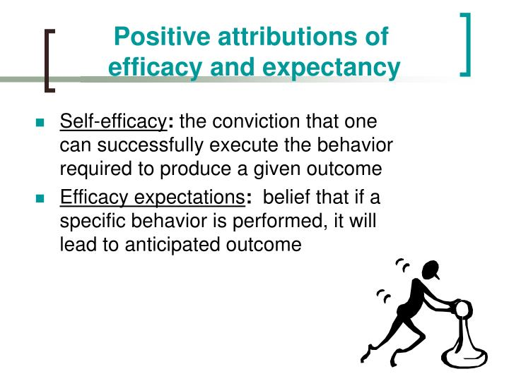 Positive attributions of
