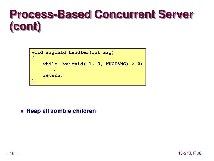 Process-Based Concurrent Server