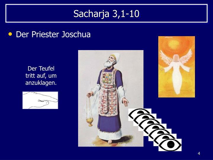 Sacharja 3,1-10
