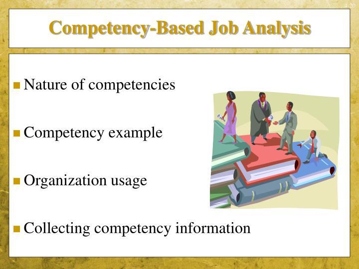 Competency-Based Job Analysis