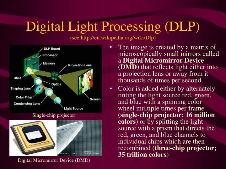 Digital Light Processing (DLP)