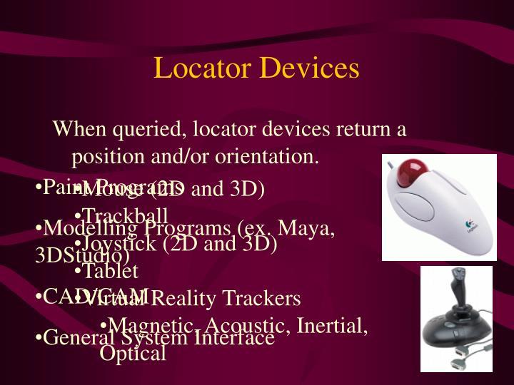 Locator Devices