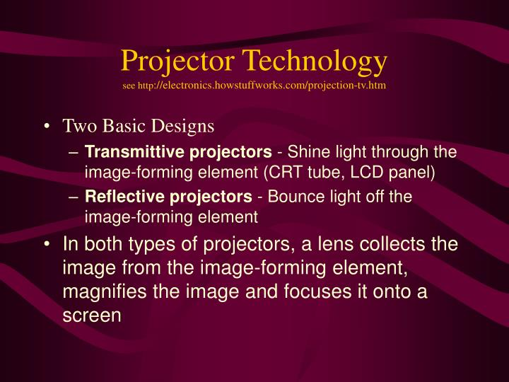 Projector Technology