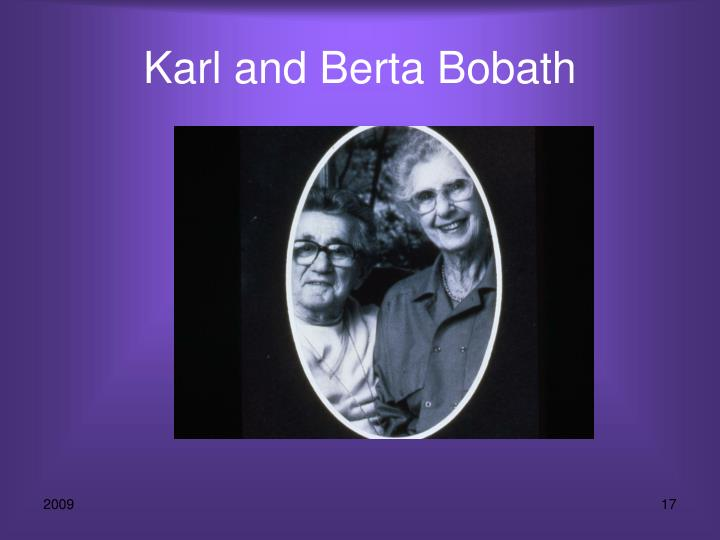 Karl and Berta Bobath