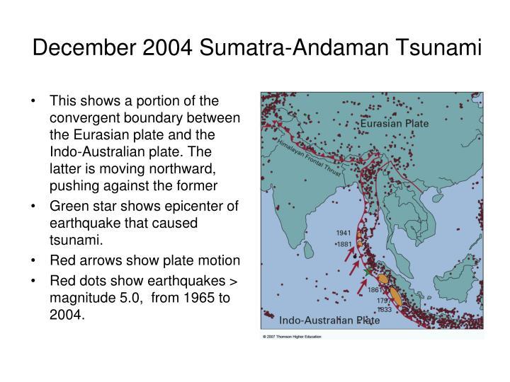 December 2004 Sumatra-Andaman Tsunami
