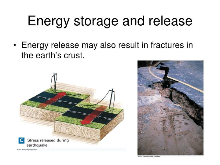 Energy storage and release