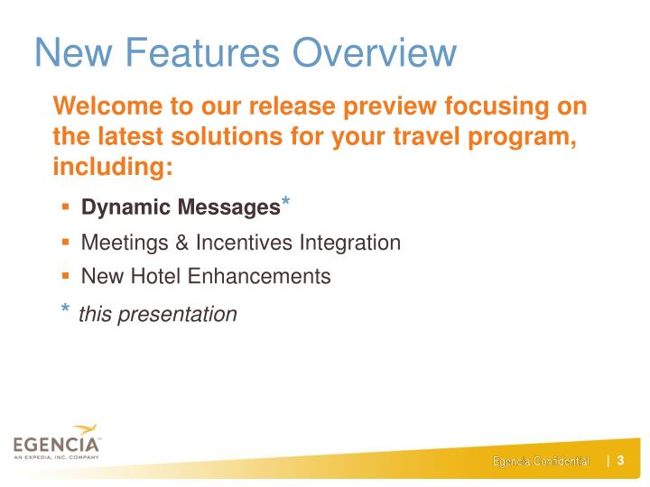 New Features Overview
