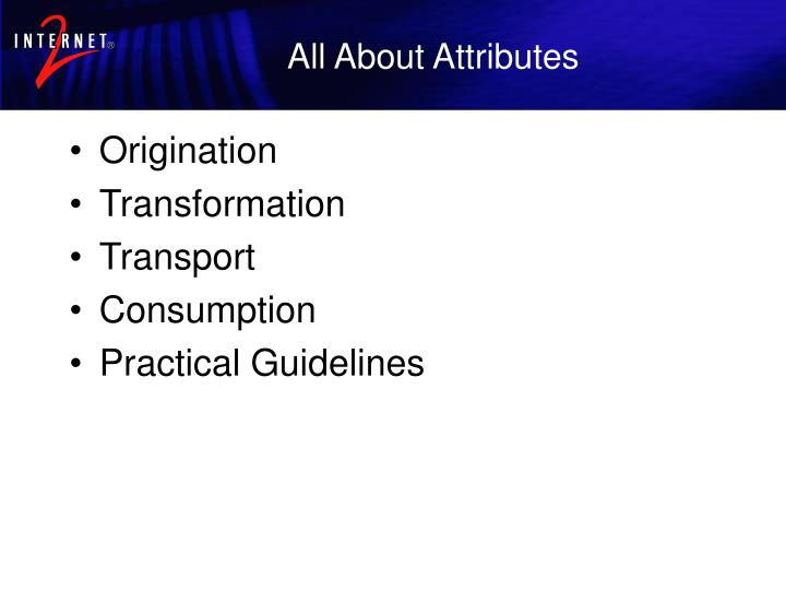 All about attributes1