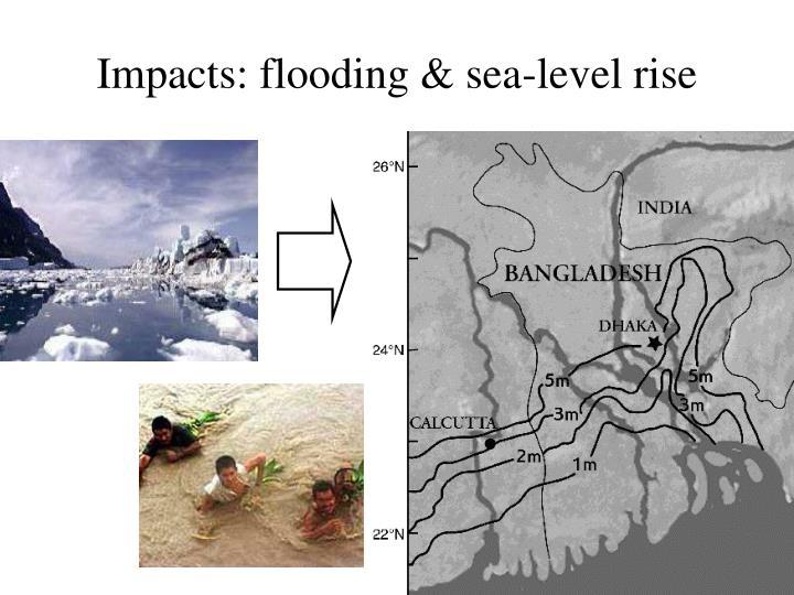 Impacts: flooding & sea-level rise