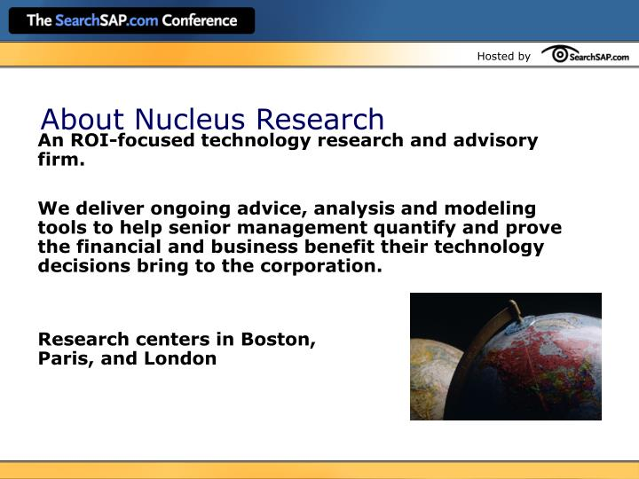 About Nucleus Research
