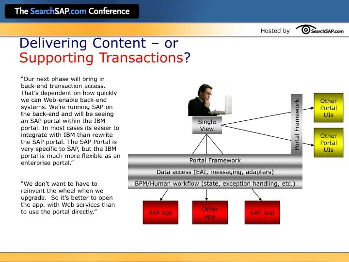 Delivering Content – or