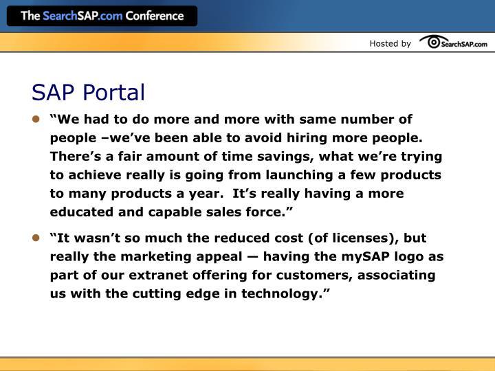 SAP Portal