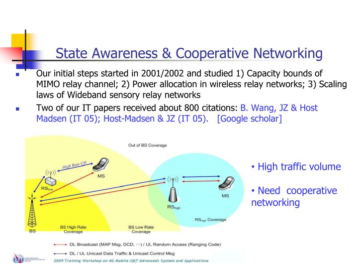 State Awareness & Cooperative Networking