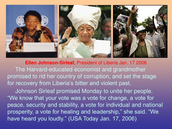 Ellen Johnson-Sirleaf,