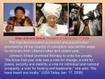 ellen johnson sirleaf president of liberia jan 17 2006