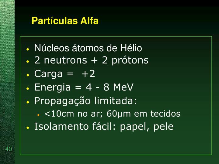 Partículas Alfa