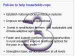 policies to help households cope