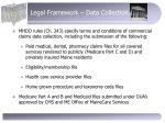 legal framework data collection