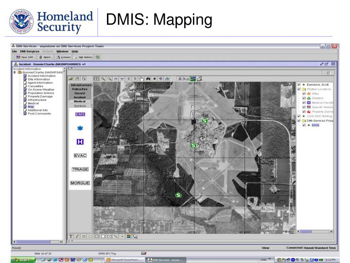 DMIS: Mapping