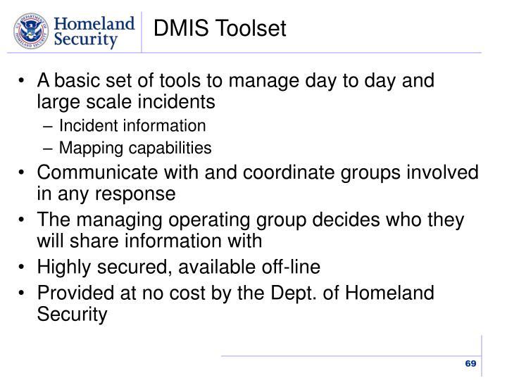 DMIS Toolset