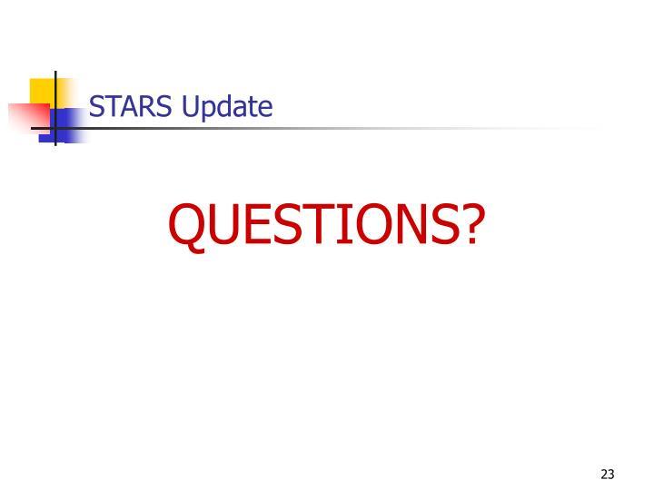 STARS Update
