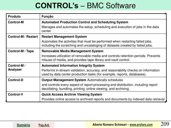 CONTROL's