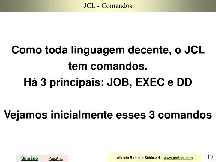 JCL - Comandos