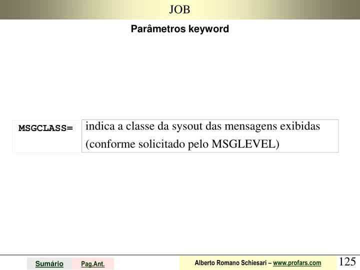 MSGCLASS=