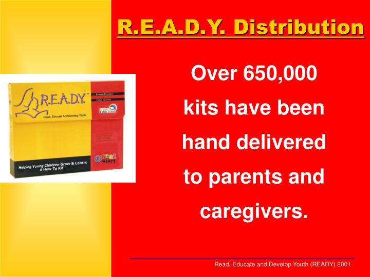 R.E.A.D.Y. Distribution