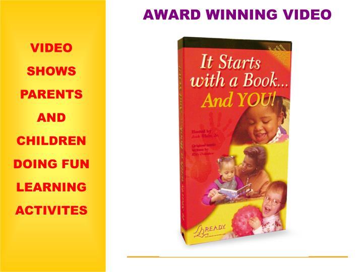 AWARD WINNING VIDEO