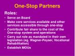 one stop partners