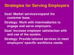 strategies for serving employers1