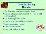healthy eating diabetes