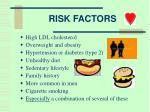 risk factors3